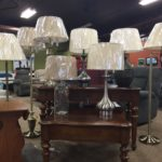 A diverse selection of lamps to choose from